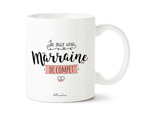 "Mug ""Marraine"""