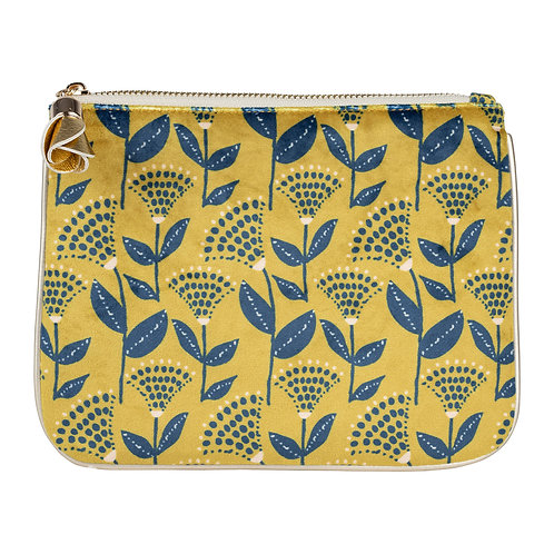 "Pochette ""Girly"" jaune"