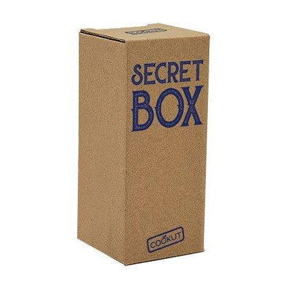 Secret box bleu