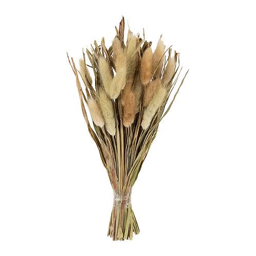 """Bouquet de fleurs séchées """"Lagure"""" naturel"""