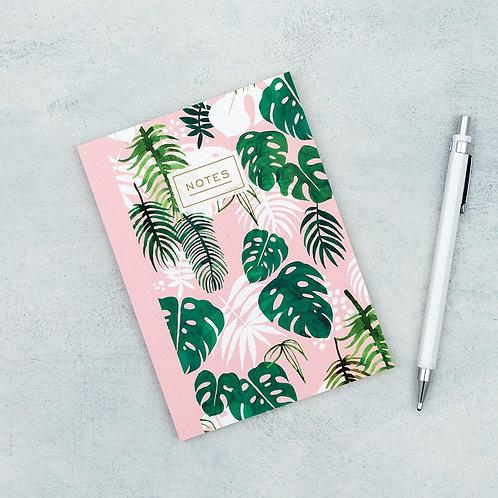 """Carnet de notes A6 """"Tropical Palm"""""""