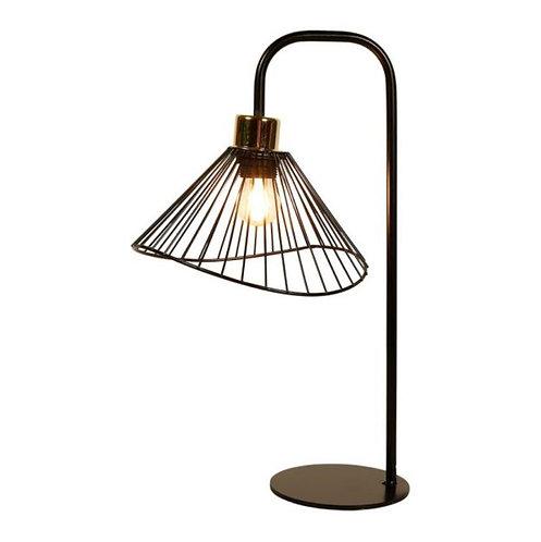 """Lampe """"Filaire"""" dorée"""
