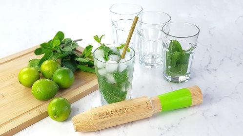 Pilon et verres pour mojitos parfaits