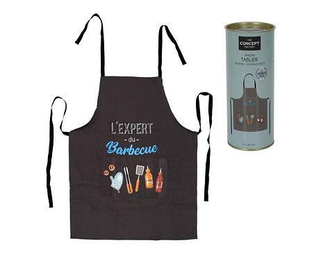 "Tablier ""Expert du barbecue"""