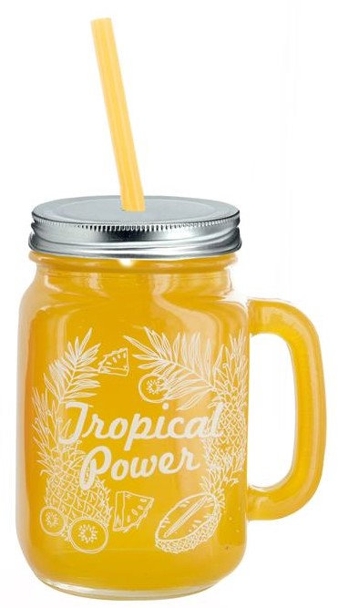 Verre Tropical jaune
