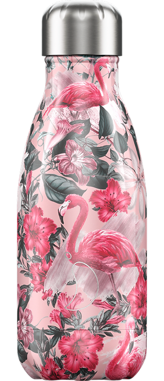 """Bouteille isotherme """"Flamand rose"""" 260ml"""