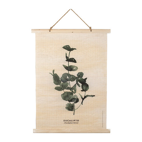 Toile imprimée Eucalyptus
