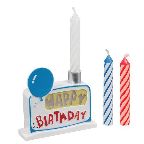 Bougie musicale Happy Birthday
