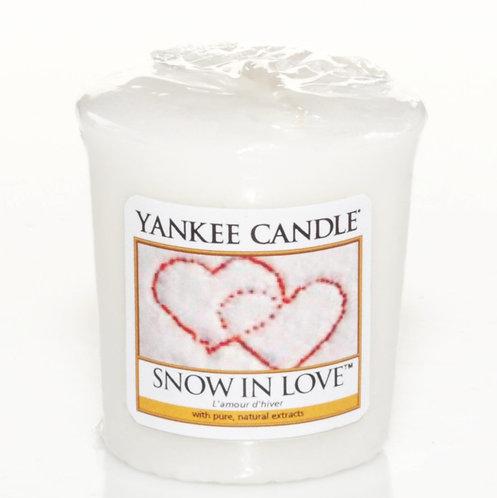 Amour d'hiver, votive
