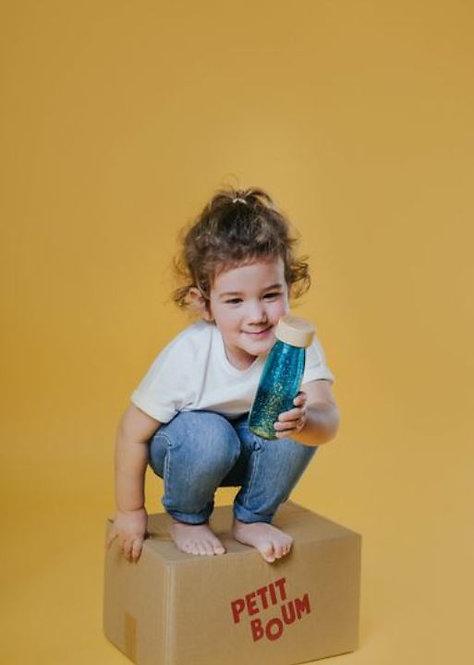 Bouteille sensorielle Float turquoise