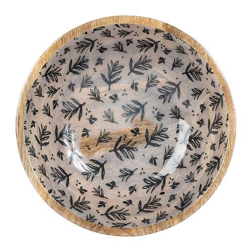Coupe manguier fleuri bleu canard