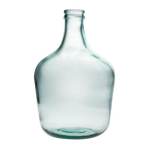 Vase bouteille Comete verre