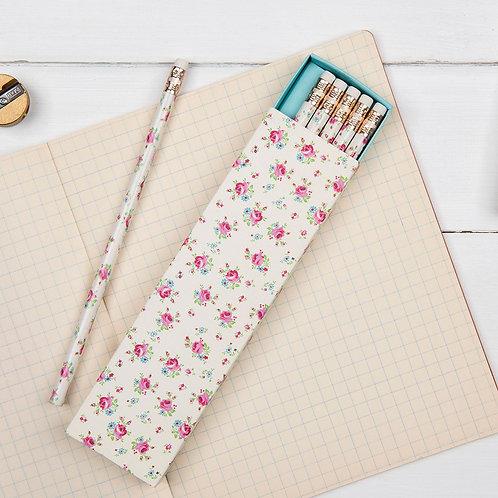Boîte de 6 crayons à papier