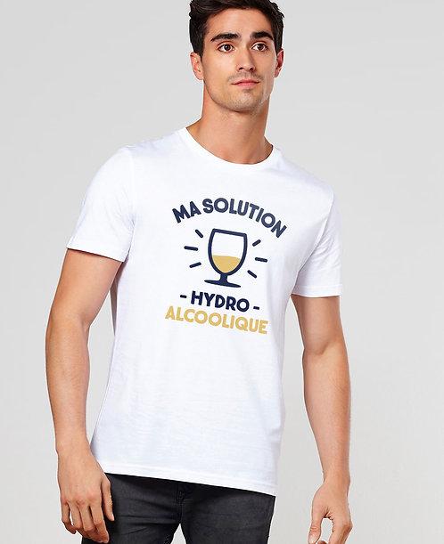 """T-shirt """"Solution hydroalcoolique"""""""