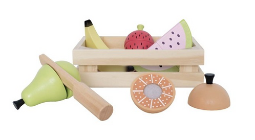 Fruits en bois à couper