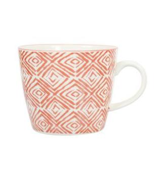 """Tasse à café """"Octave"""", rouge"""
