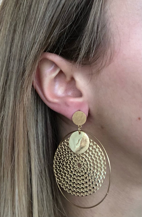 """Boucles d'oreilles """"Pampilles"""""""