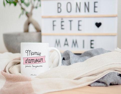 """Mug """"Mamie d'amour"""""""