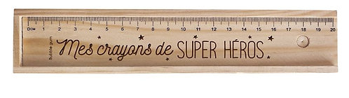 "Boîte ""Mes crayons de super héros"""