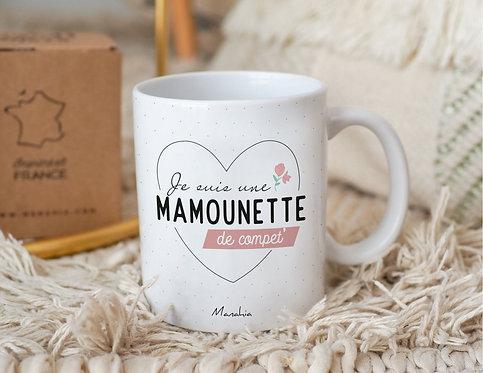 """Mug """"Mamounette de compet' """""""