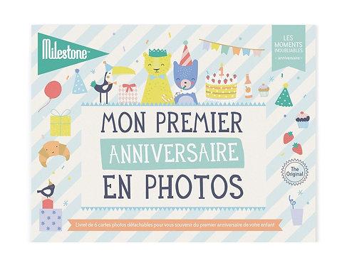 """Cartes photos """"Mon premier anniversaire"""""""