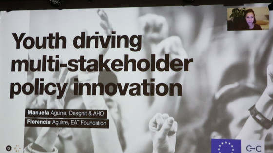 Youth driving multi-stakeholder policy innovation: From physical to digital co-creation