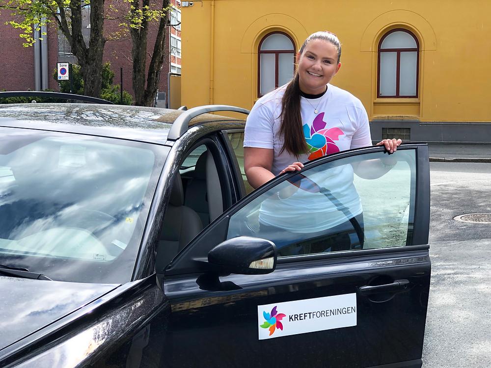 Marianne Fjellås, gruppeleder i Kjøretjenesten TrondheimFoto: Kreftforeningen