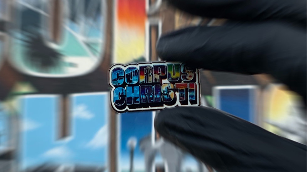Metal Corpus Christi Pins