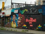 Stonewall Mural in Astoria, Queens
