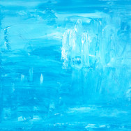 Blue/White Abstract