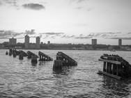 Hudson River Piles