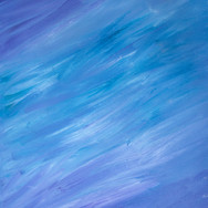 Purple/Blue/White River Abstract