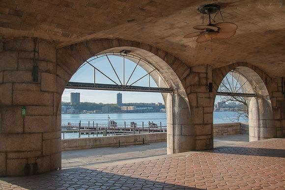 New York City - 79th Boat Basin on the Hudson