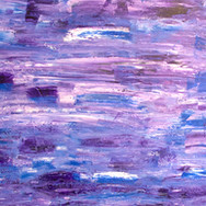 Purple/Blue/Pink/White Abstract