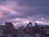 Purple/Pink Clouds over UWS