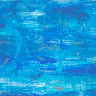 Blue/Silver/Light Blue Abstract