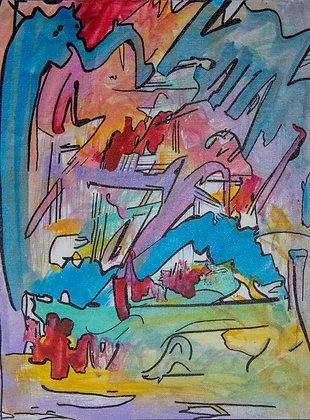 Comic Abstract