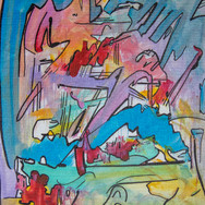 Cartoon Abstract