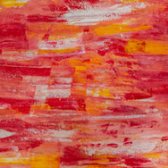 Orange/Red/White/Yellow Line Abstract