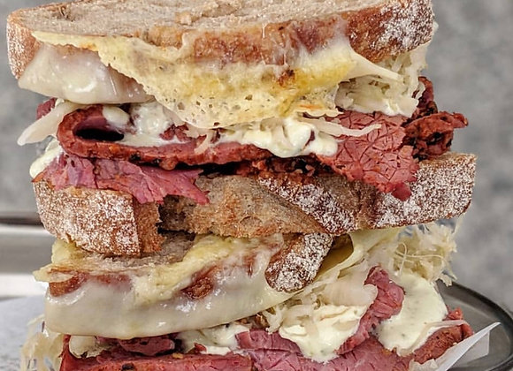 Picklebrined Beef Pastrami - ready to eat (200g/500g/1kg)