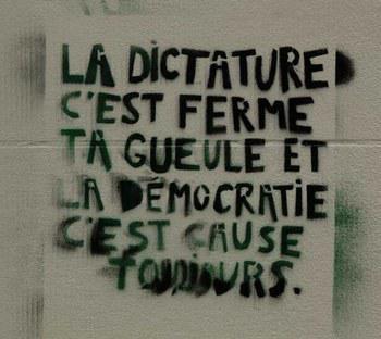 """LA """"DEMOCRATIE"""", L'ENNEMI PRINCIPAL À ABATTRE: DES COMMUNES PROLÉTARIENNES PARTOUT SUR LA PLANÈTE!"""