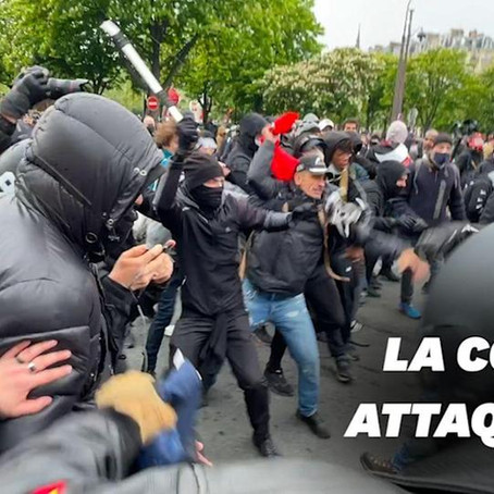 ATTAQUE DE LA CGT DU 1ER MAI 2021
