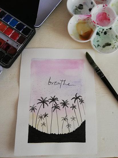 Aquarelle • Breathe