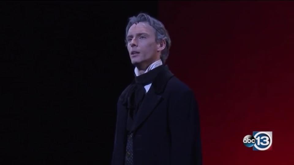 Jean Valjean in 'Les Miserables'