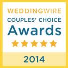 wedding wire couples choice award 2014