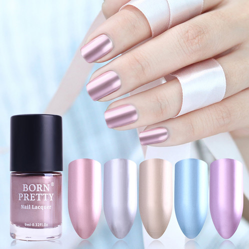 BORN PRETTY Metallic Nail Lacquer Mirror Effect | highway-importers