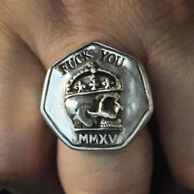 Blasphemy Ring The Wildness Jewellery