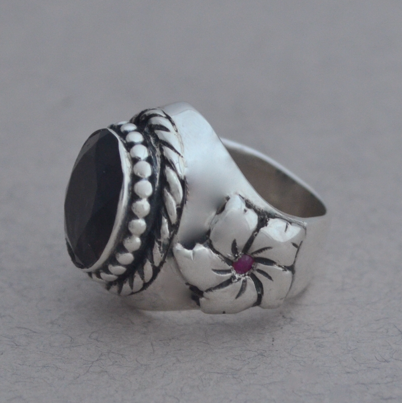 Cherry Blossom ring The Wildness Jewellery
