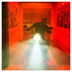 Harley Davidson im Lift