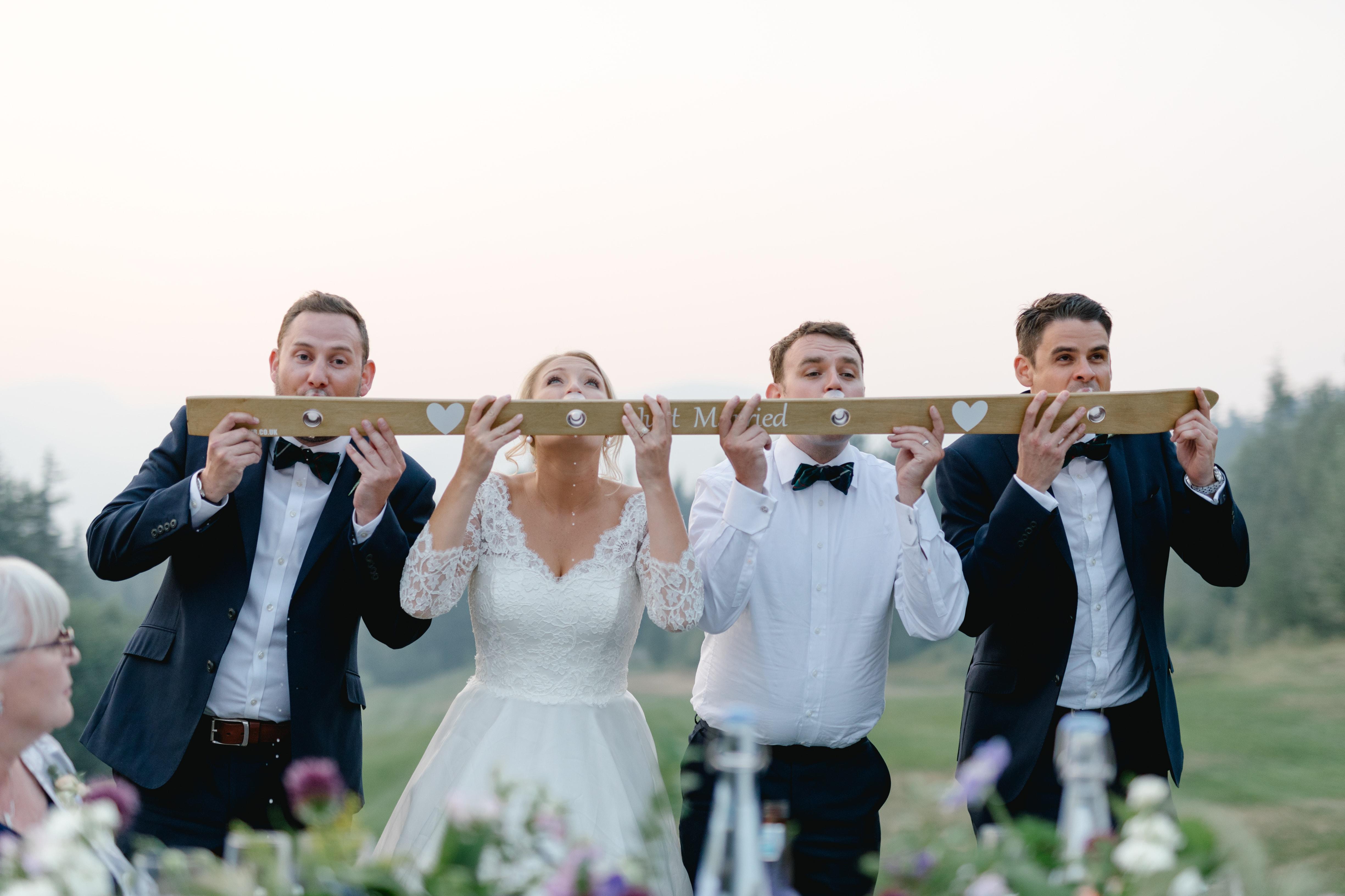 Wedding Shot Ski